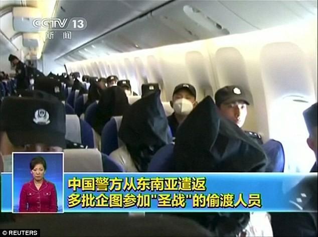 Truy bắt 109 người Trung Quốc gia nhập khủng bố IS - anh 1