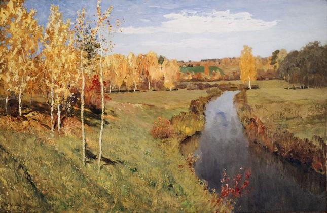 Những tác phẩm hội họa tuyệt đẹp về mùa Thu - anh 1