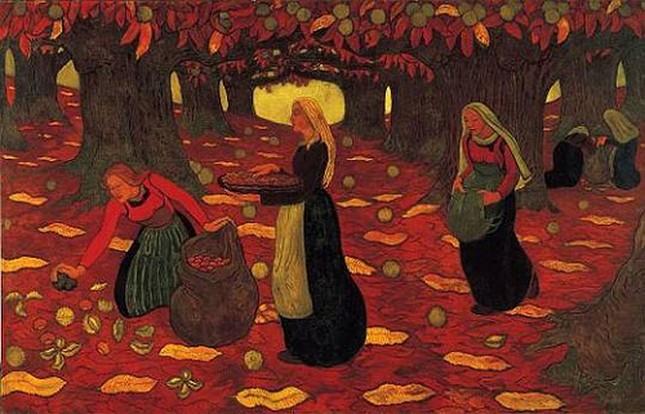 Những tác phẩm hội họa tuyệt đẹp về mùa Thu - anh 6