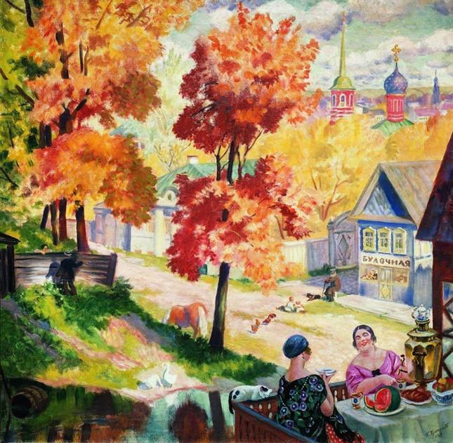 Những tác phẩm hội họa tuyệt đẹp về mùa Thu - anh 8