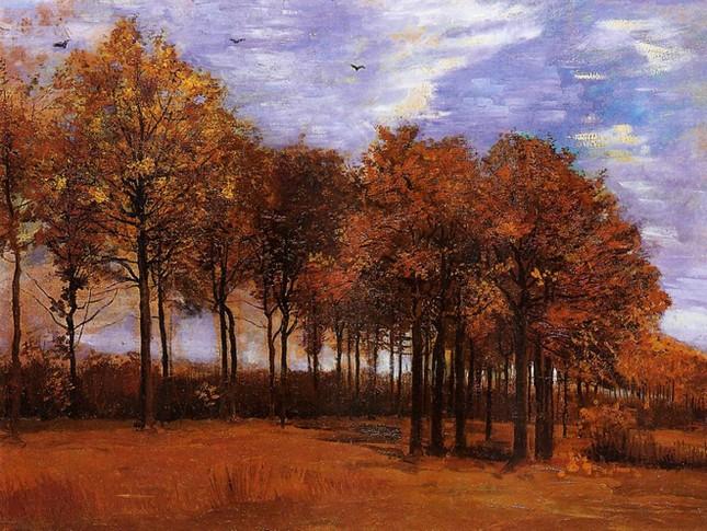 Những tác phẩm hội họa tuyệt đẹp về mùa Thu - anh 9