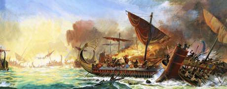 Top 5 lực lượng Hải quân hùng mạnh nhất trong lịch sử - anh 1