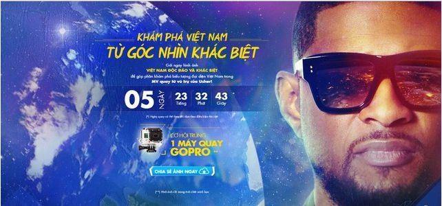 Đà Nẵng của Việt Nam xuất hiện trong MV 'khủng' của Usher quay từ trạm vũ trụ ISS - anh 8