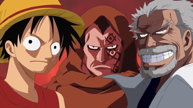 [One Piece] Những hình ảnh đẹp nhất của Monkey D. Garp - anh 5