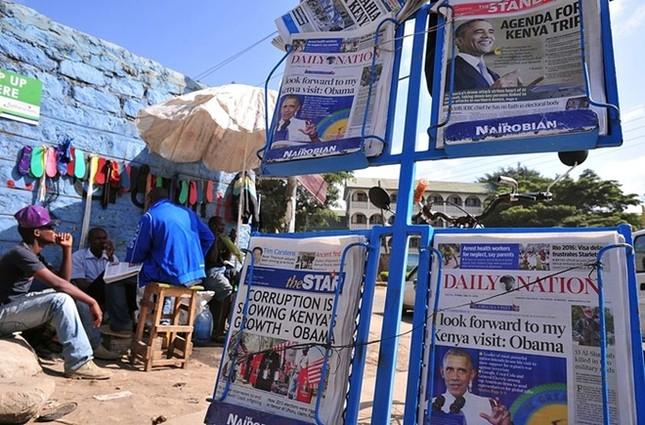 Toàn cảnh Obama thăm quê nhà Kenya trong niềm hạnh phúc vỡ òa - anh 8