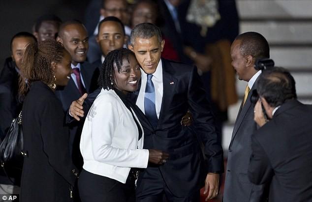 Toàn cảnh Obama thăm quê nhà Kenya trong niềm hạnh phúc vỡ òa - anh 4