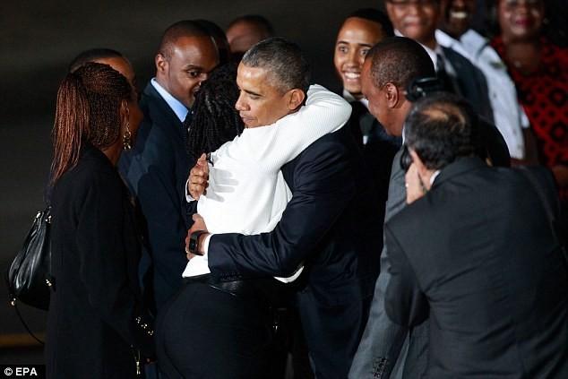 Toàn cảnh Obama thăm quê nhà Kenya trong niềm hạnh phúc vỡ òa - anh 5
