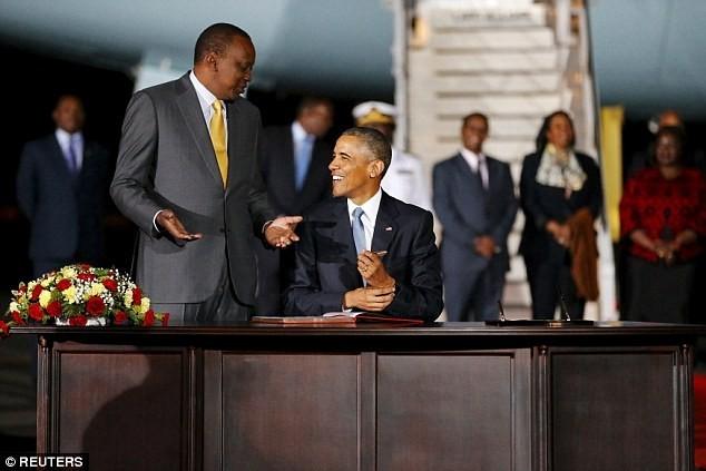 Toàn cảnh Obama thăm quê nhà Kenya trong niềm hạnh phúc vỡ òa - anh 6
