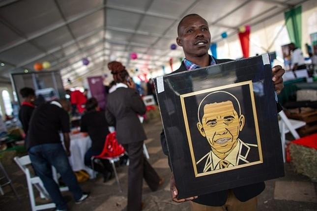 Toàn cảnh Obama thăm quê nhà Kenya trong niềm hạnh phúc vỡ òa - anh 12