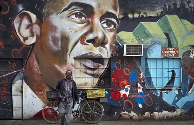 Toàn cảnh Obama thăm quê nhà Kenya trong niềm hạnh phúc vỡ òa - anh 11