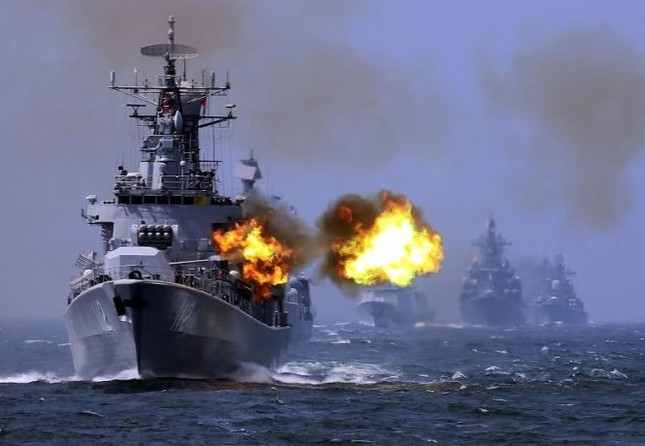 Biển Đông hôm nay 30/7: Trung Quốc dội mưa bom xuống Biển Đông, bất chấp dư luận quốc tế - anh 2