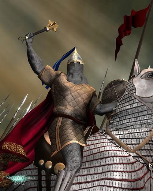 Kỵ binh Cataphract - Kiệt tác dũng mãnh thời cổ đại - anh 2