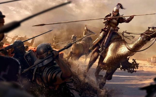 Kỵ binh Cataphract - Kiệt tác dũng mãnh thời cổ đại - anh 1