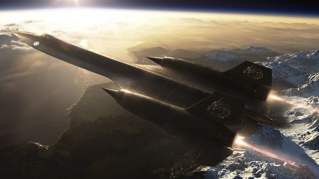 Sức mạnh thống trị của 'Chim Đen' SR-71: Trinh sát cơ chiến lược Mỹ - anh 3