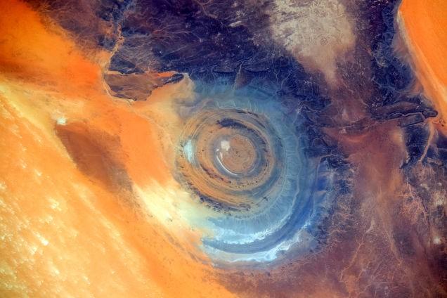Bí ẩn cấu trúc triệu năm 'Con mắt của châu Phi' tại sa mạc Sahara - anh 6