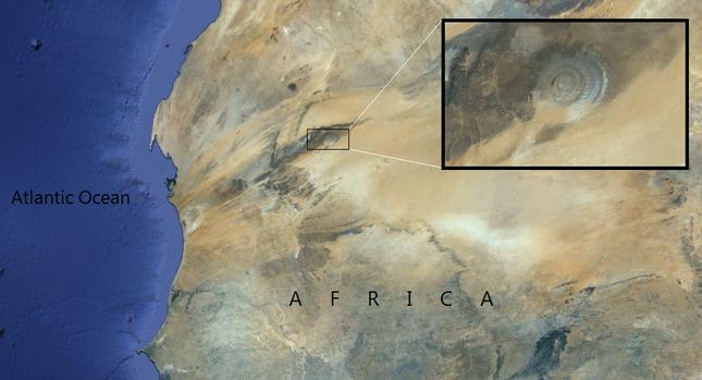 Bí ẩn cấu trúc triệu năm 'Con mắt của châu Phi' tại sa mạc Sahara - anh 11