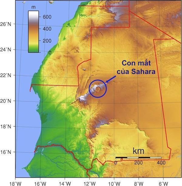 Bí ẩn cấu trúc triệu năm 'Con mắt của châu Phi' tại sa mạc Sahara - anh 3