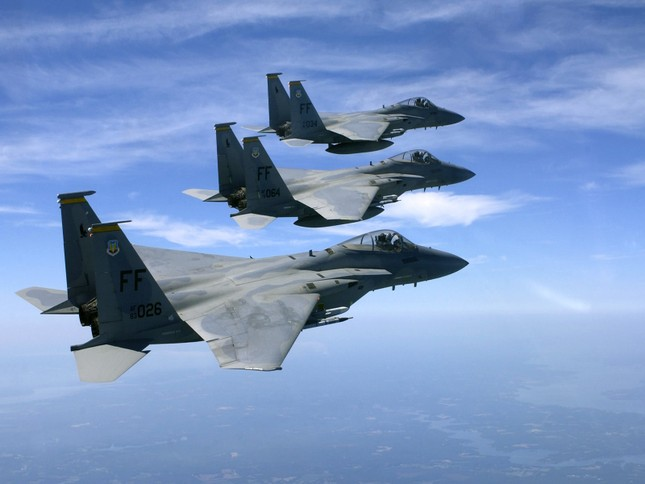 F-15 Eagle: 'Đại Bàng' bất khả chiến bại của Không lực Mỹ - anh 2