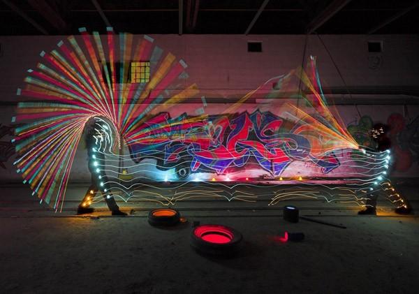 Bộ ảnh Graffiti ánh sáng đẹp đến mê hồn - anh 14