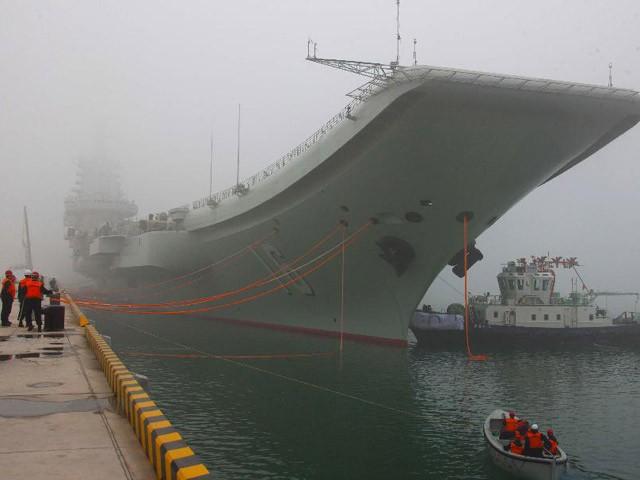 Vì sao Trung Quốc xây căn cứ tàu sân bay hướng ra Biển Đông? - anh 3