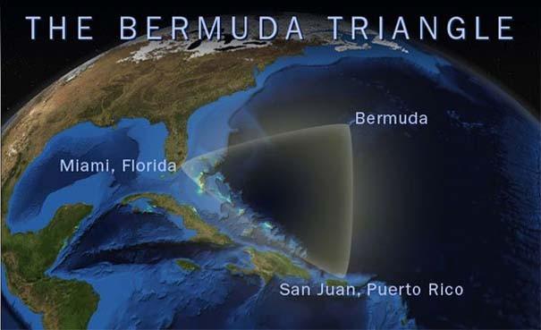 Những địa điểm bí ẩn giống 'Tam giác quỷ' Bermuda - anh 1