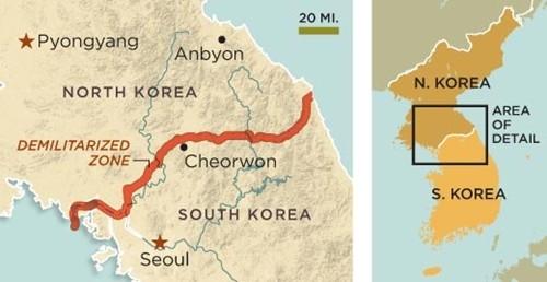 'Triều Tiên sẽ phải trả giá đắt cho việc cài mìn khu phi quân sự' - anh 2