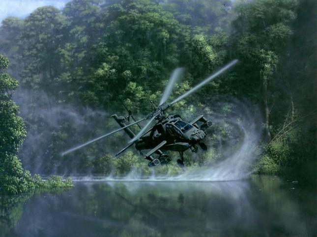Sức mạnh khủng khiếp của 'sát thủ trên không' AH-64 Apache - anh 2