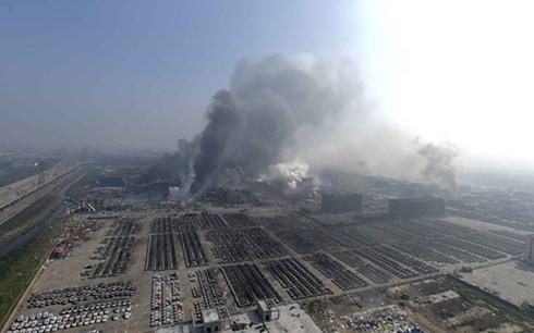 Kinh tế Thiên Tân 'kiệt quệ' sau vụ nổ kinh hoàng - anh 2