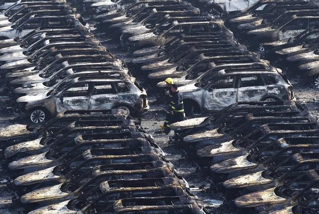 Kinh tế Thiên Tân 'kiệt quệ' sau vụ nổ kinh hoàng - anh 3