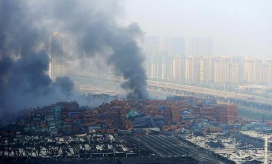 Kho hàng ở Thiên Tân chứa chất gây cháy nổ gấp 70 lần mức cho phép - anh 1