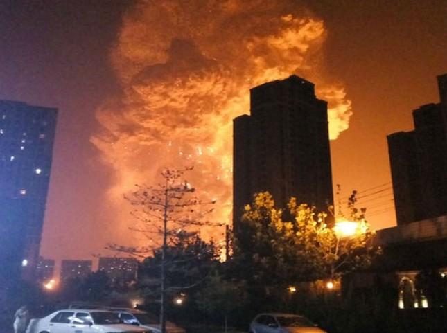 Kho hàng ở Thiên Tân chứa chất gây cháy nổ gấp 70 lần mức cho phép - anh 2