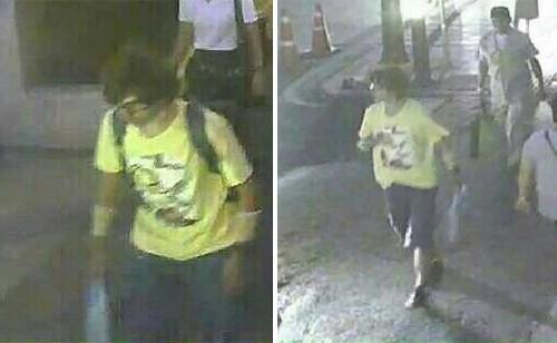Lộ diện nghi phạm đánh bom chấn động Bangkok - anh 1