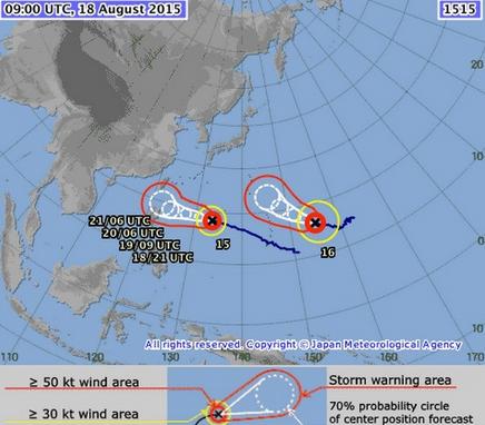 Song siêu bão đang tiến từ Thái Bình Dương vào đất liền - anh 3