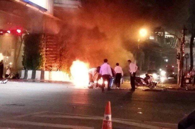 Vụ đánh bom ở Bangkok: Ít nhất 10 kẻ lên kế hoạch từ 1 tháng trước - anh 1