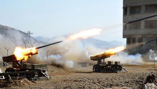 Triều Tiên, Hàn Quốc nã pháo ác liệt tại biên giới - anh 1