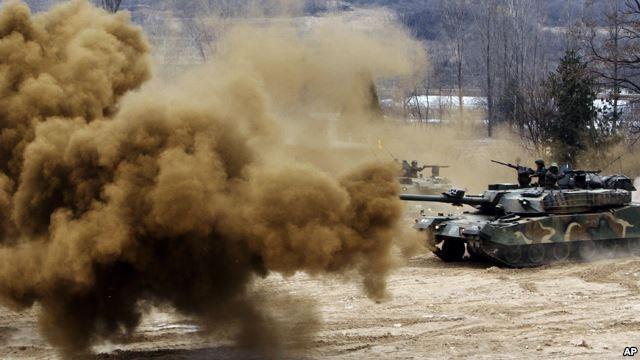 Triều Tiên và Hàn Quốc có nguy cơ bùng nổ chiến tranh - anh 1