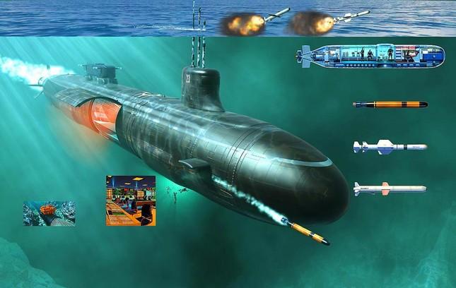 Tàu ngầm Mỹ: Gián điệp tàng hình trong lòng đại dương - anh 2