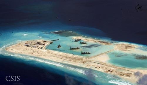 Biển Đông hôm nay 23/8: Trung Quốc bất ngờ tăng cường cải tạo đảo tại Biển Đông - anh 1