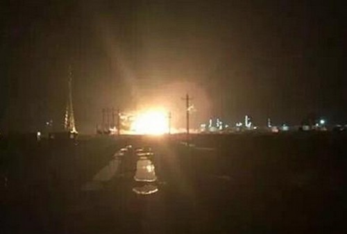 Lại nổ kinh hoàng ở nhà máy hóa chất Sơn Đông, Trung Quốc - anh 1