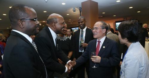 Chủ tịch Quốc hội chủ trì tiệc chiêu đãi quốc tế mừng Quốc khánh 2/9 tại trụ sở Liên Hợp Quốc - anh 1