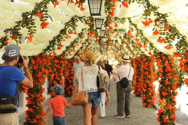 Ngắm Bồ Đào Nha rực rỡ trong Lễ hội Hoa ngập sắc màu - anh 11