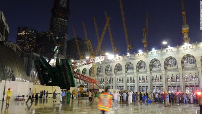Hiện trường sập cẩn cầu kinh hoàng ở thánh địa Mecca, hơn 300 người thương vong - anh 3