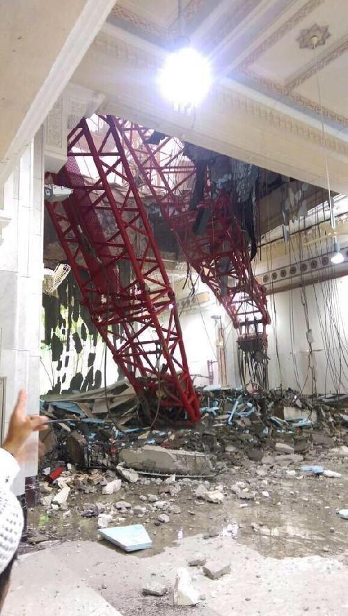 Hiện trường sập cẩn cầu kinh hoàng ở thánh địa Mecca, hơn 300 người thương vong - anh 7