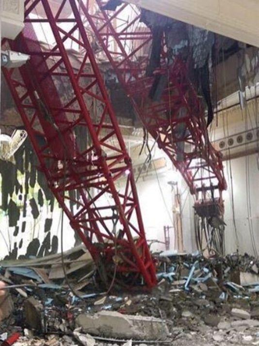 Hiện trường sập cẩn cầu kinh hoàng ở thánh địa Mecca, hơn 300 người thương vong - anh 8