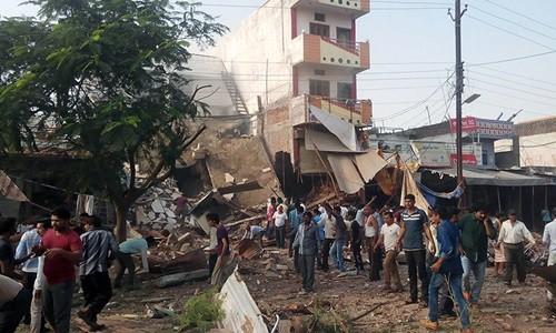 Nổ lớn tại Ấn Độ, gần 200 người thương vong - anh 1