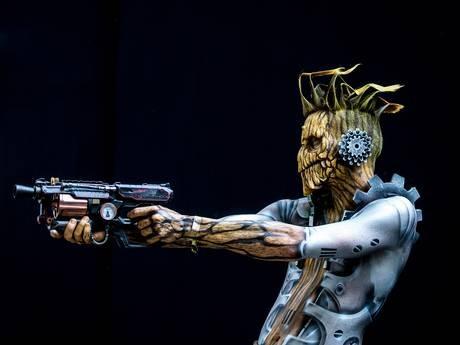 Độc đáo Lễ hội xăm mình nghệ thuật 2015 tại Áo - anh 3