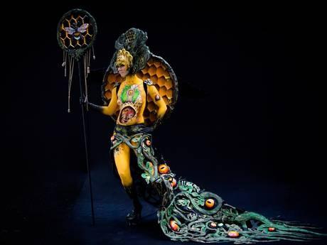 Độc đáo Lễ hội xăm mình nghệ thuật 2015 tại Áo - anh 4