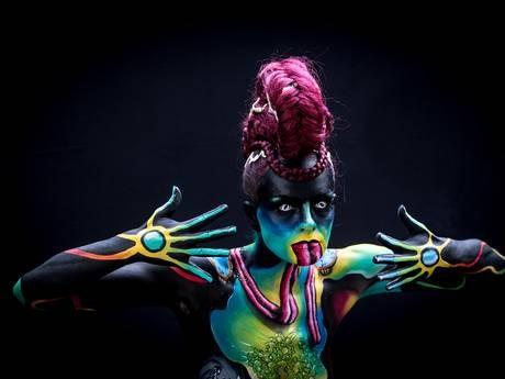Độc đáo Lễ hội xăm mình nghệ thuật 2015 tại Áo - anh 5
