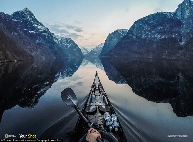 Ruộng bậc thang Việt Nam tuyệt đẹp trong Bộ ảnh của National Geographic - anh 2
