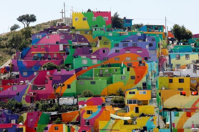 'Mục sở thị' bức tranh tường lớn nhất thế giới - anh 1